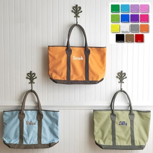 Personalized Countryside Embroidered Tote Bag GC794