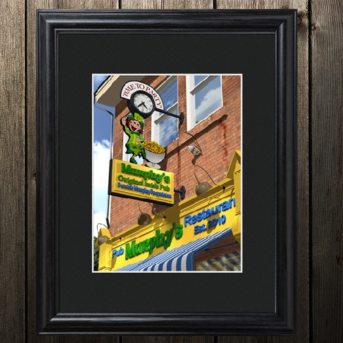 Personalized Irish Pub Matted Frame Wall Art GC819
