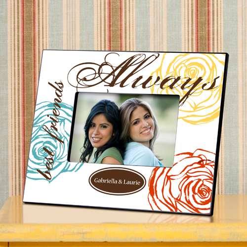 Personalized Forever Friends Friendship Frames - Personalize at ...