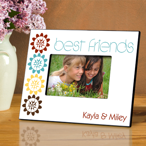 Personalized Bff Bouquet Picture Frame GC858bff-bouquet