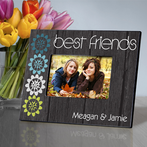 Personalized Bff Nature's Charm Picture Frame GC858bff-nature