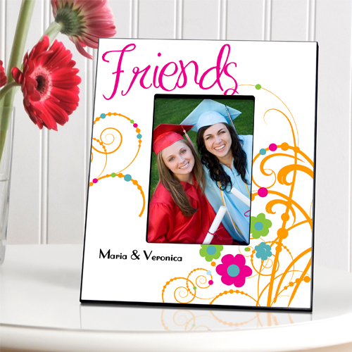 Personalized Cheerful Friendship Picture Frames - Personalize at ...