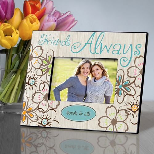 Personalized Flower Power Everlasting Friends Picture Frame GC858everlasting-flower