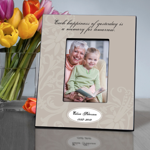 Each Happiness Sympathy Memorial Custom Picture Frame GC861eachhappiness