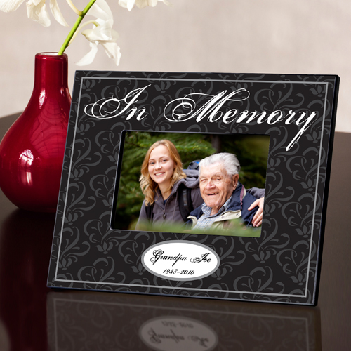 In Memory Sympathy Memorial Custom Picture Frame