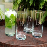 Portico 20oz Modern Cooler Glass Set Of 4 GC879