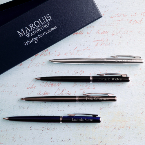 Custom Waterford Arcadia Ballpoint Pen With Gift Box