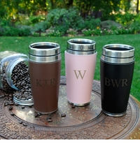 Custom Executive Travel Tumbler With Washable Cuff GC903