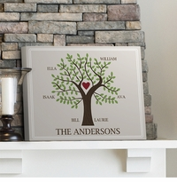 Custom Traditional Family Tree Canvas Print GC920traditional