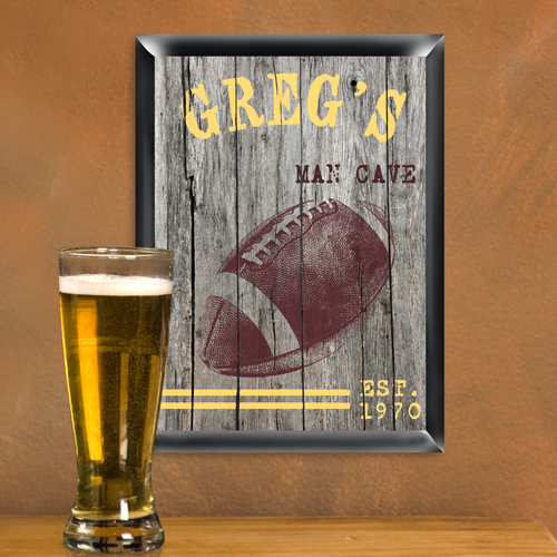 Custom Printed Wooden Look Pub Sign GC934
