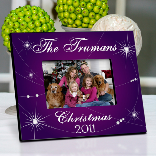 Shining Christmas Star Picture Frame