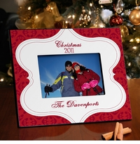 Merry Christmas Tapestry Picture Frame GC945tapestry