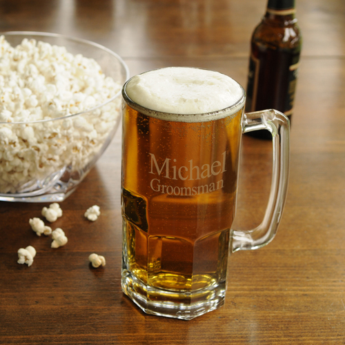 Monster Sized 32oz Glass Beer Stein Mug GC949