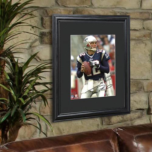NFL Framed Print Autographed By Player GC956
