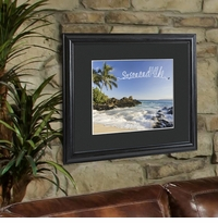 Creative Fresh Air Personalized Print and Black Frame GC960