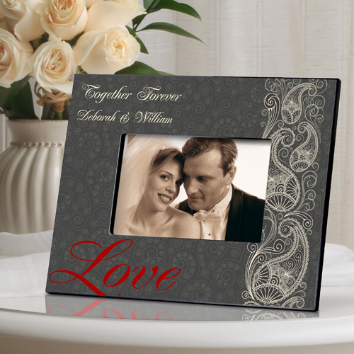 Passionate Love Paisley Picture Frame