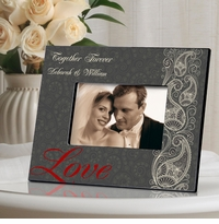 Passionate Love Paisley Picture Frame GC963paisley