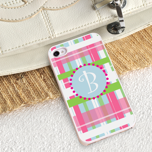 Custom Iphone Protective Case With White Border