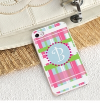 Stylish Iphone Protective Case With White Border GC973herwhite