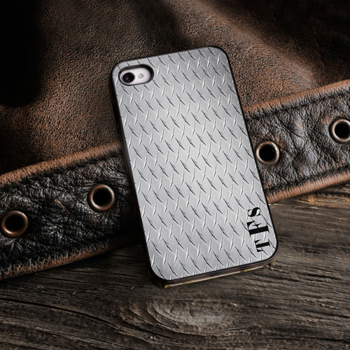 Personalized Iphone Protective Case With Black Trim