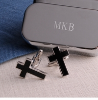 Cross Formal Cufflinks With Personalized Keepsake Box GC977