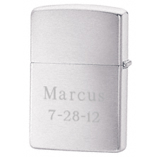 Engraved NFL Zippo Windproof Metal Lighter
