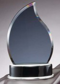 Flame Shaped Smoked Glass Awards GK62