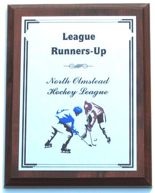 Hockey Faceoff Plaque Hockey Faceoff Plaque