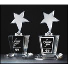 Shooting Star Crystal Award Trophy K9037M