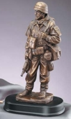 On Guard Resin Military Soldier MIL201