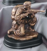 Gun Battle Resin Military Soldier MIL203