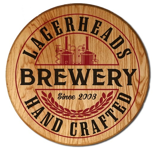 Personalized Brewery Handcrafted Barrel Sign OBC-CBH6056-BREWERY