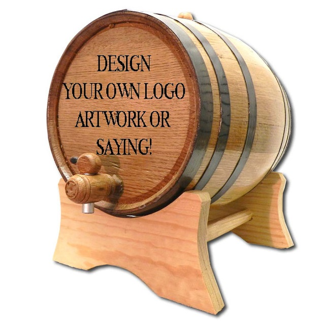 Designed By You 2 Liter Oak Aging Barrel OBC-CPG