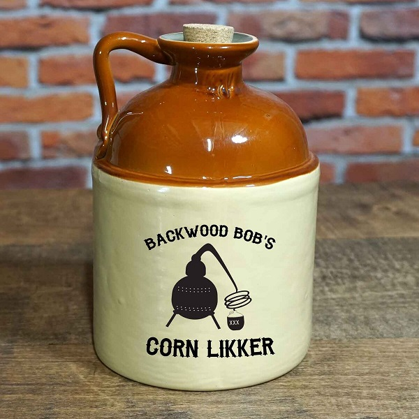 Personalized Vintage 750ml Drinkin' Jug OBC-MJ