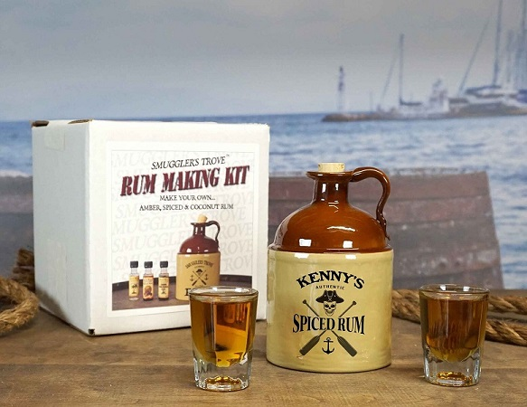 Personalized Smuggler's Trove Rum Making Kit OBC-SmugKIT