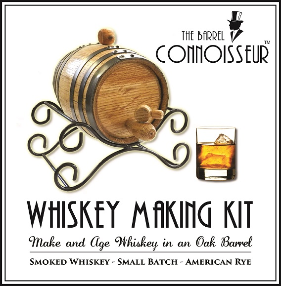 The Barrel Connoisseur 1 Liter Spirit Making Kit OBC-TBC-1L