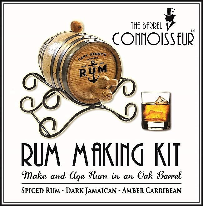 The Barrel Connoisseur Captain Rum Making Kit OBC-TBCR_B827