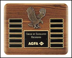 Eagle Casting Perpetual Plaque