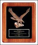 Walnut Framed Eagle Plaque P2397
