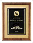 Premium Gold Embossed Plaque P3164