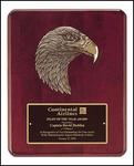 Rosewood Eagle Plaque P3754