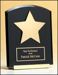Black Acrylic Star Award P3987