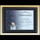 Glass Certificate Plaque P4190