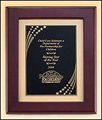 Framed Star Shower Plaque P4454