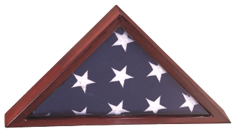 Flag Display Case Made From Rosewood PFC14