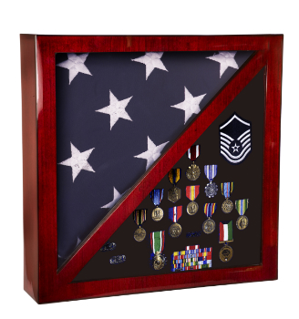 Memorabilia and Memorial Flag Display Case PFC18