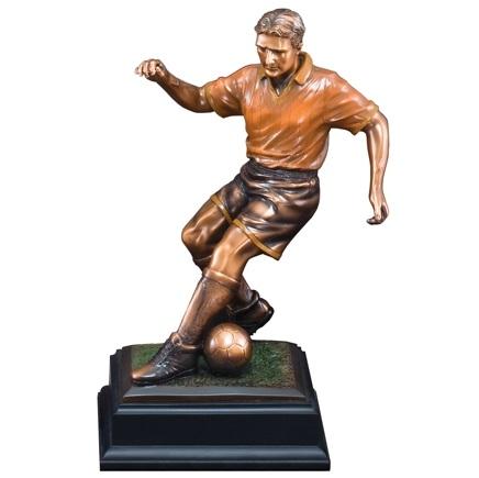 Custom 135 Soccer Player Resin Statue