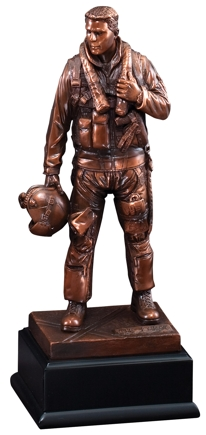 Ready For Flight Air Force Resin Statue RFB133