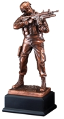 Ready Aim Fire Army Soldier Resin Statue RFB134