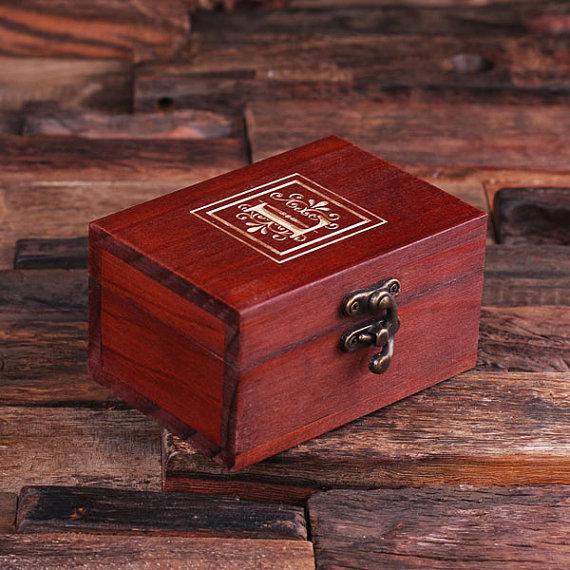 Personalized Petite Rectangular Keepsake Jewery Box